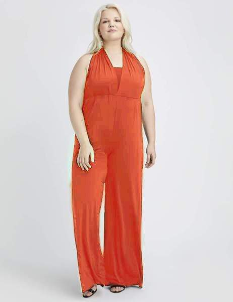 Two Birds Rust Convertible Jumpsuit