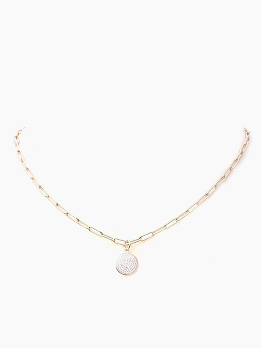 XoJulez Mia Pendant Necklace OS / Sterling Silver