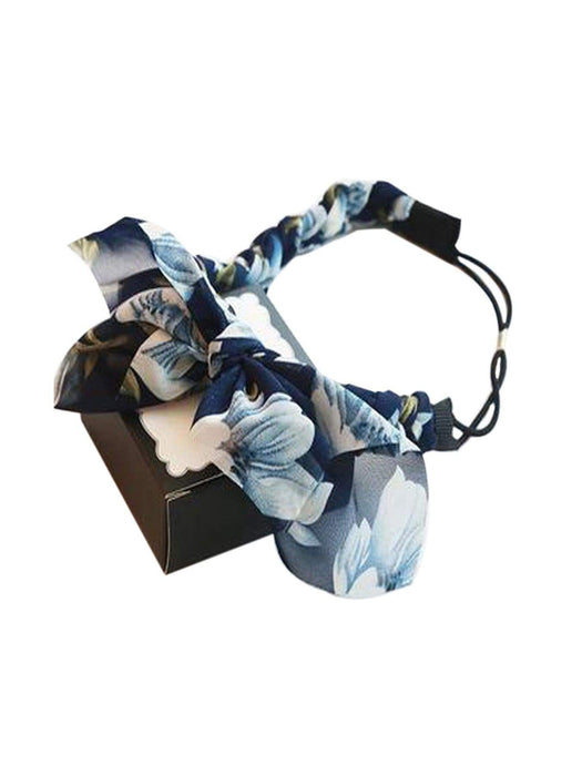 ZHUU Janelle Headband in Navy OS