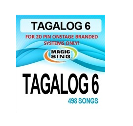 Magic Sing 20 Pin Tagalog6 Song Chip for Onstage