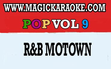 Magicsing POP VOL 9 R&B Motown Song Chip With 141 Songs
