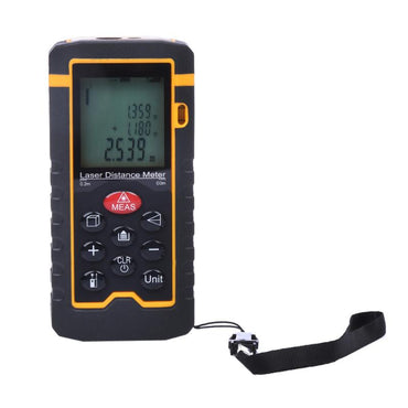 60M / 197ft Digital Laser Distance Meter Rangefinder Laser Tape Range Finder trena ruler Diastimeter Measure Roulette Tool
