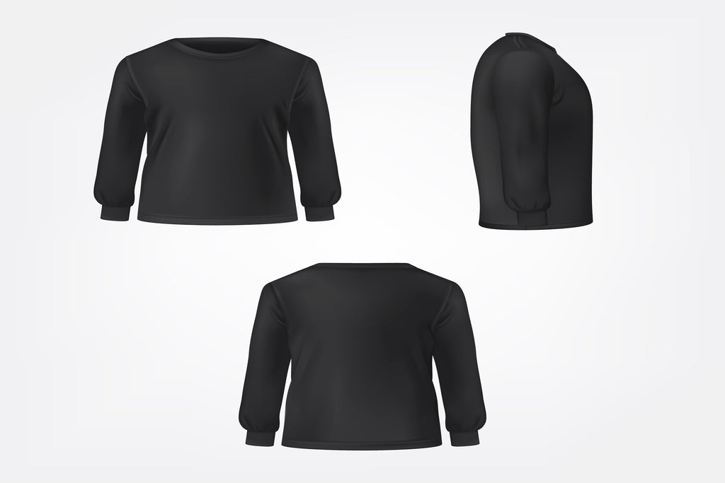 Mens Crew Neck Long Sleeve Thermal Shirts