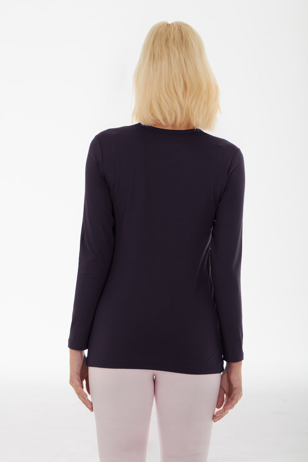 Women's Crew Neck Thermal Shirt