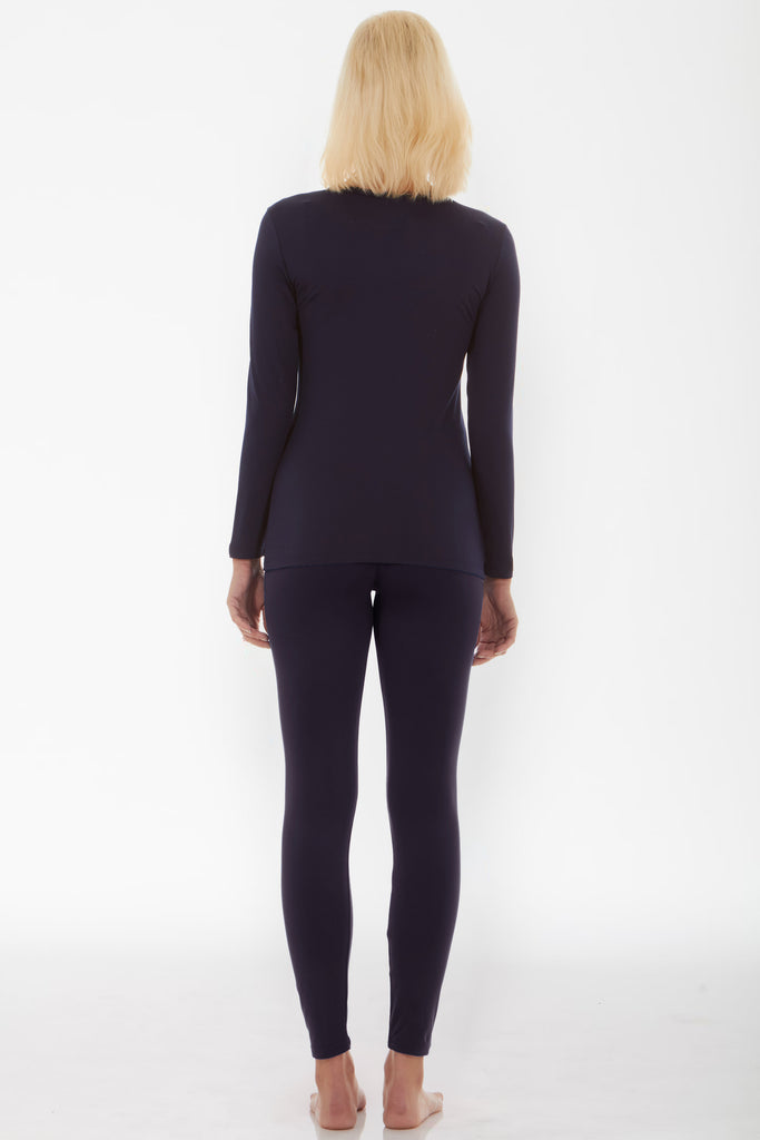 Navy Thermal Underwear Set