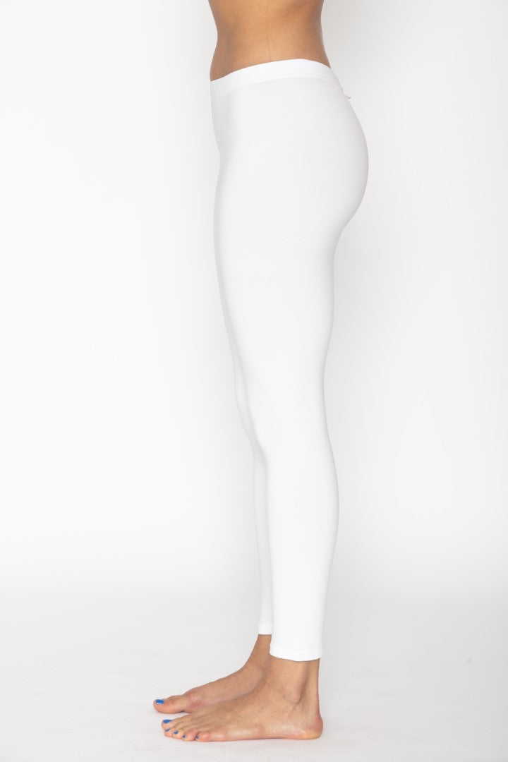 Women's Thermal White Leggings