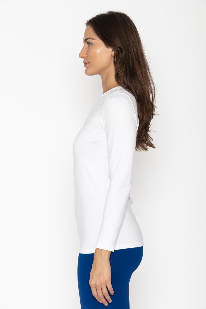 Women's Thermal White Shirt