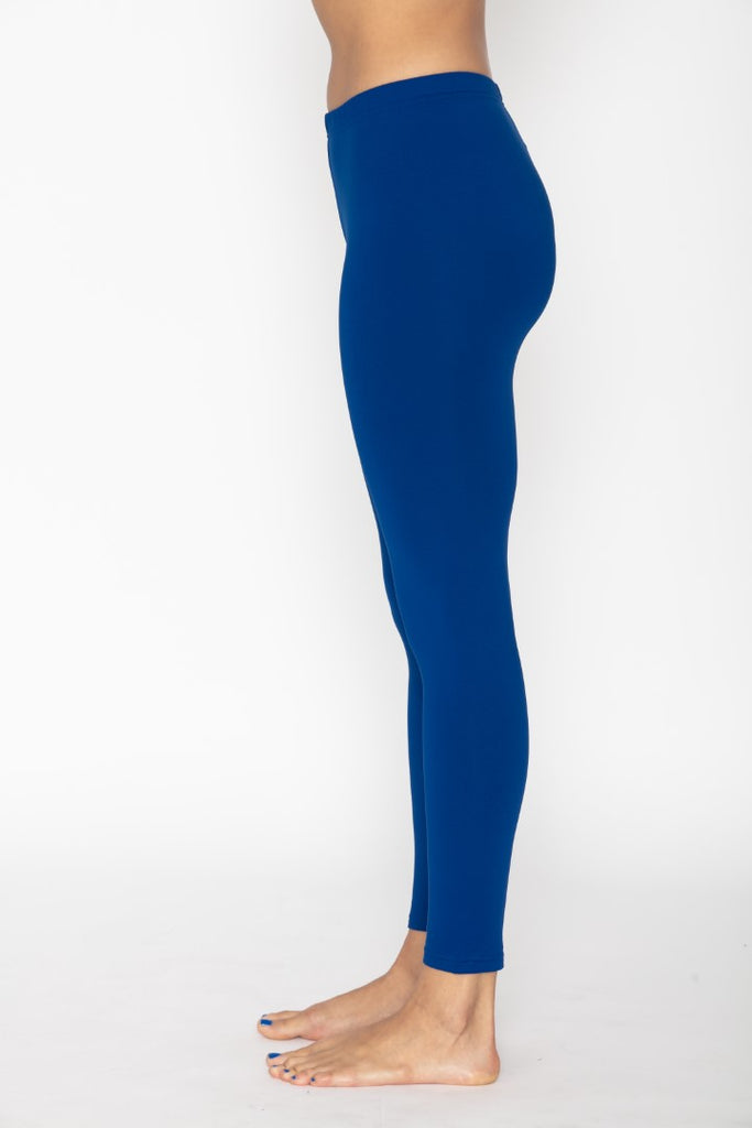 Women's Thermal Royal Blue Leggings