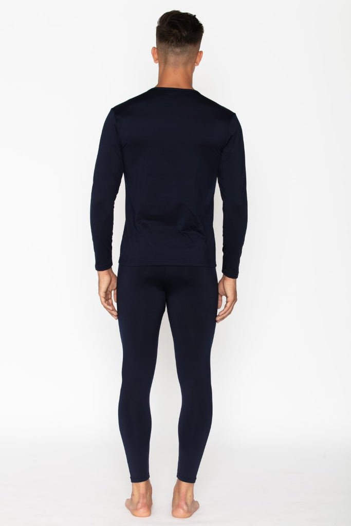 Navy Men's Thermal Underwear Set