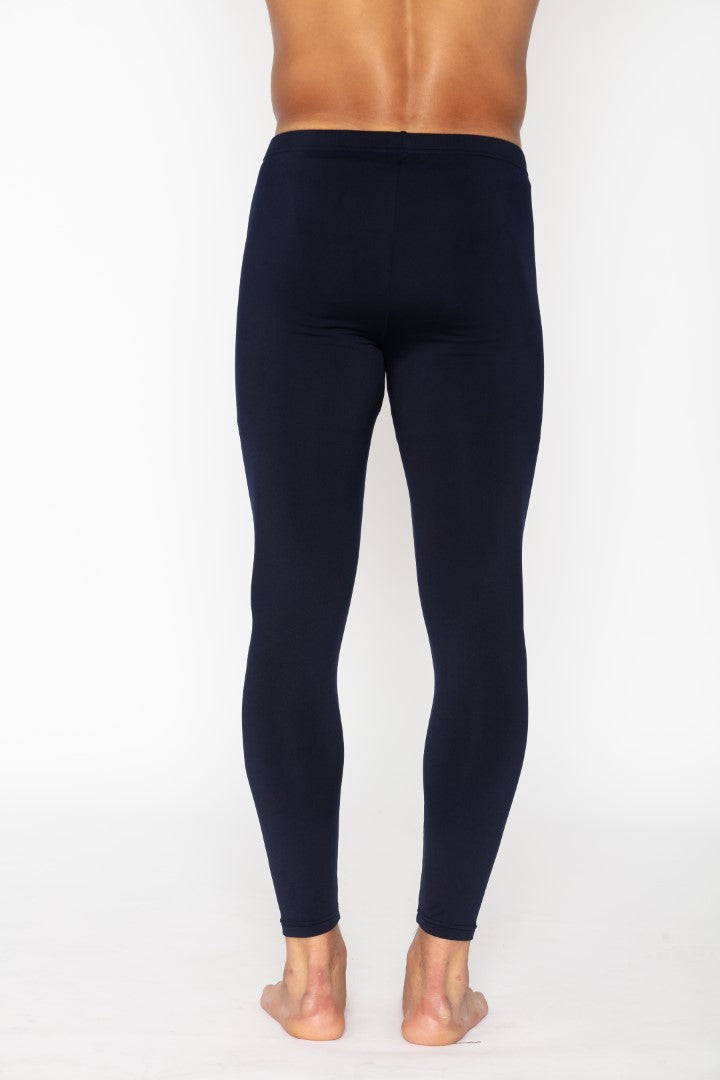 Navy Men's Thermal Long John Pants