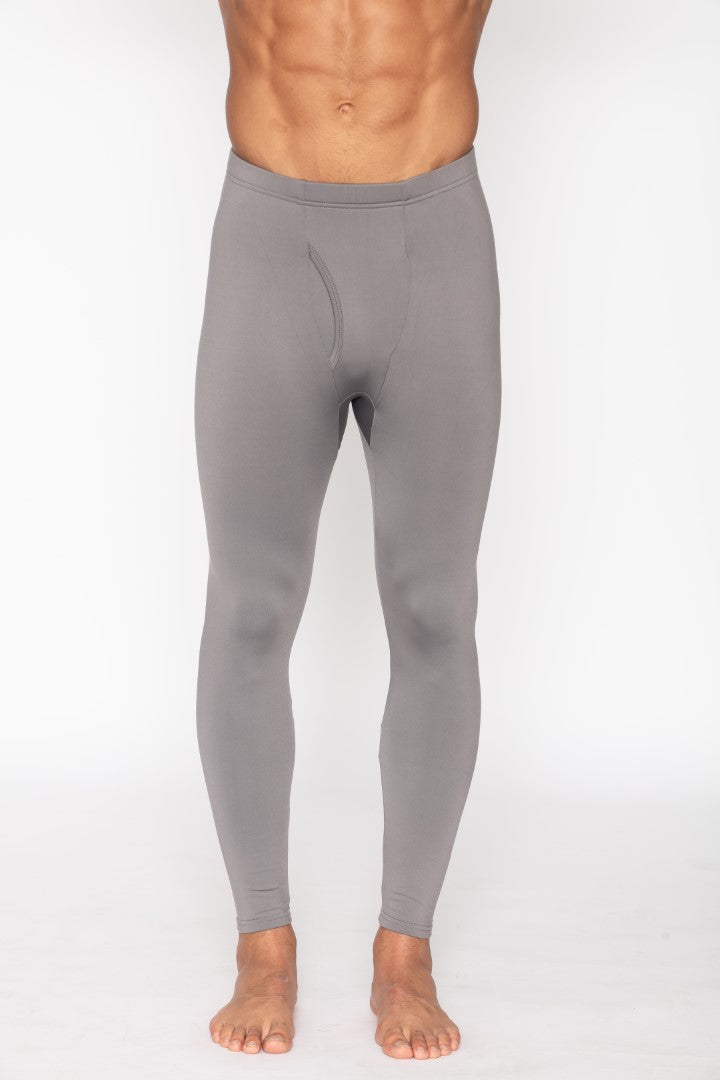 Men's Thermal Grey Long John Pants