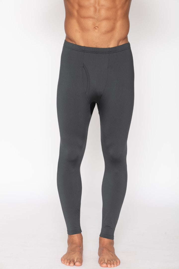 Men's Thermal Charcoal Long John Pants