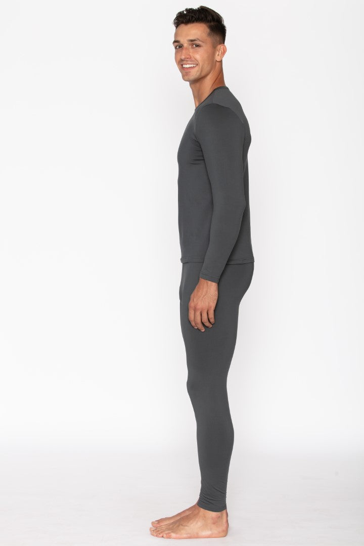 Charcoal Men's Thermal Underwear Set