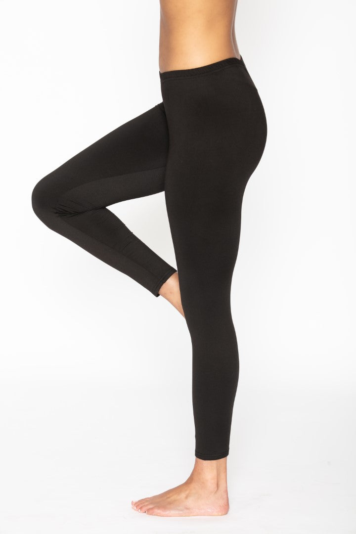Women's Thermal Black Leggings