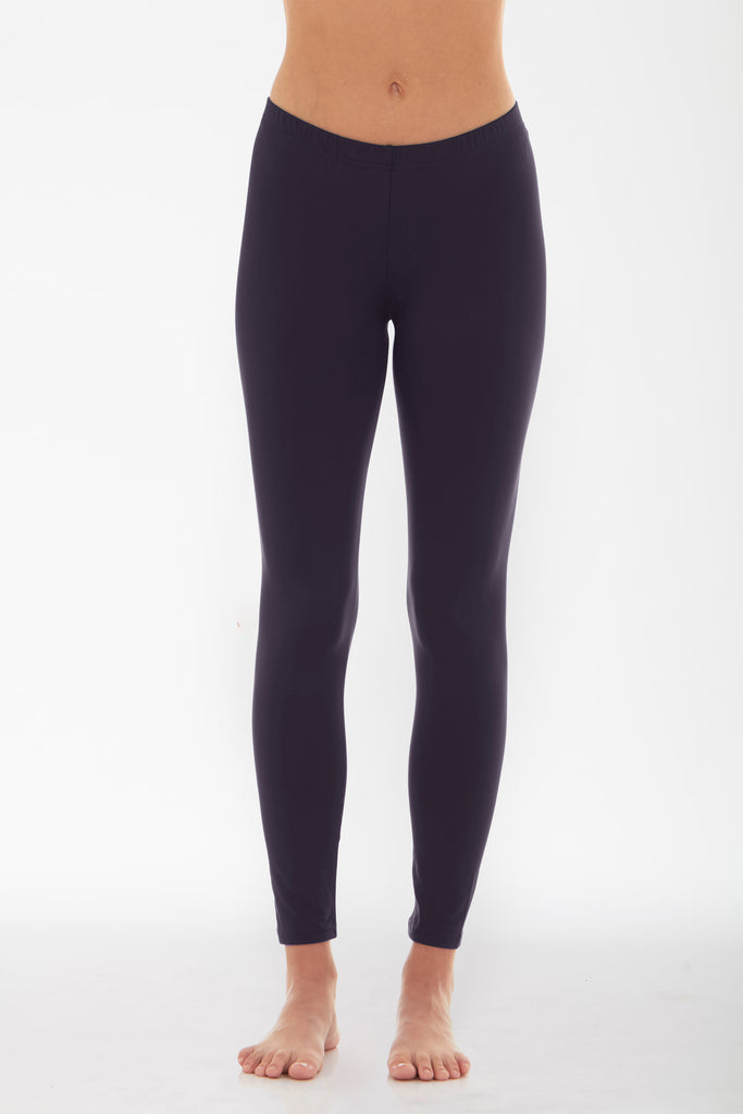 Women's Thermal Long John Navy Leggings