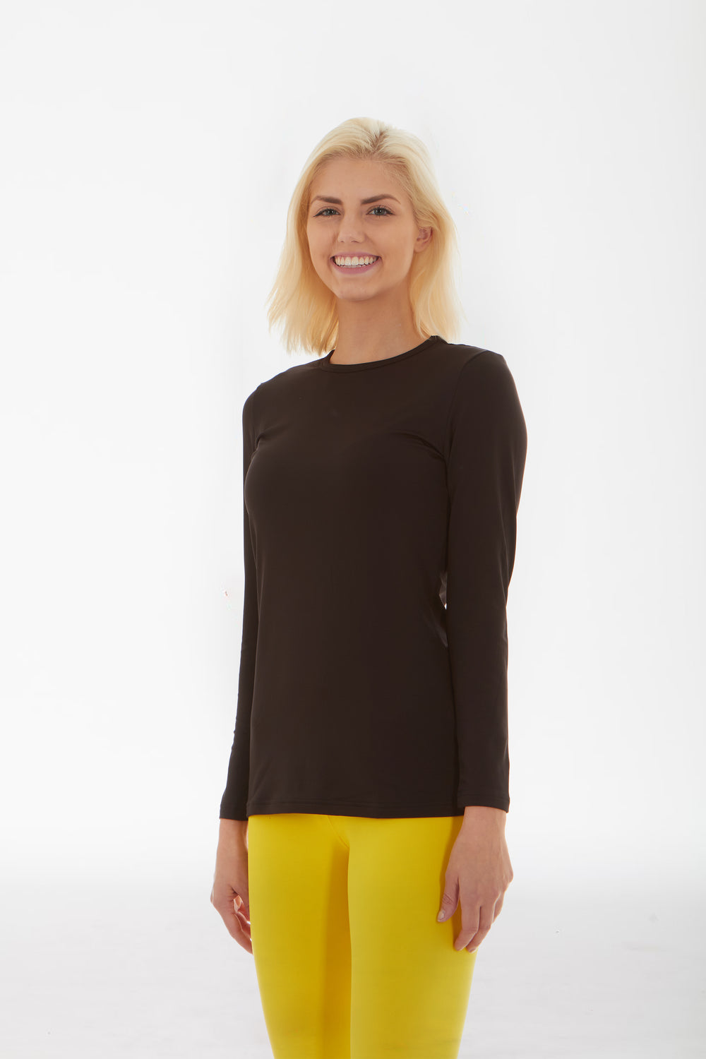 Women's Thermal Black Shirt
