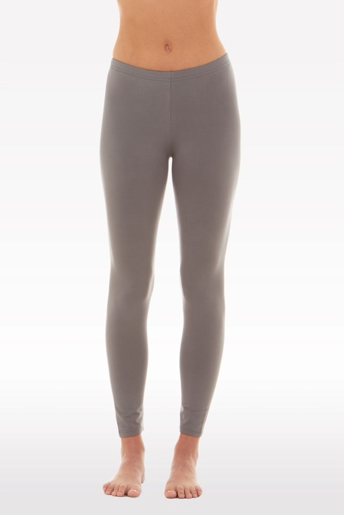 Women's Thermal Long John Grey Leggings