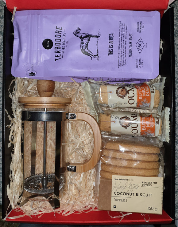 Bamboo Coffee Plunger Gift Hamper
