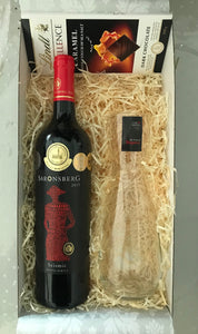 Red Wine & Carafe Hamper (Saronsberg)