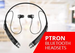 PTron Bluetooth Headsets