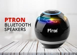 PTron Bluetooth Speakers