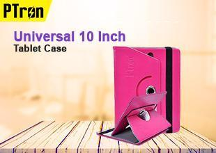 PTron Universal 10 Inch Tablet Case