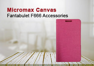 Micromax Canvas Fantabulet F666 Accessories