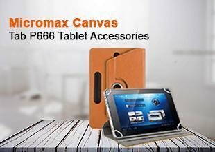 Micromax Canvas Tab P666 Tablet Accessories