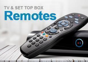 TV and SET TOP BOX Remotes