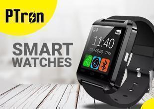 PTron Smart Watch For All YU Smartphones