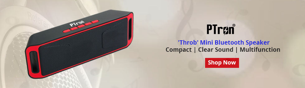 Ptron Throb Bluetooth Speakers