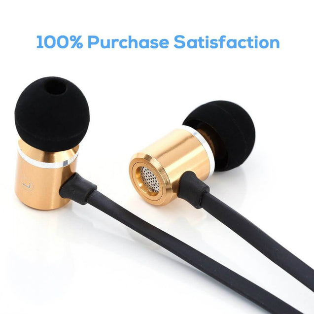 PTron Unison In-Ear Headphone With Noise Cancellation For Xiaomi Redmi Note 5 Pro (Gold)