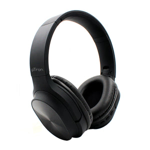 pTron Soundster Pro Over-Ear Wireless Headphones with High Bass & 20 Hrs Playback Time - Black