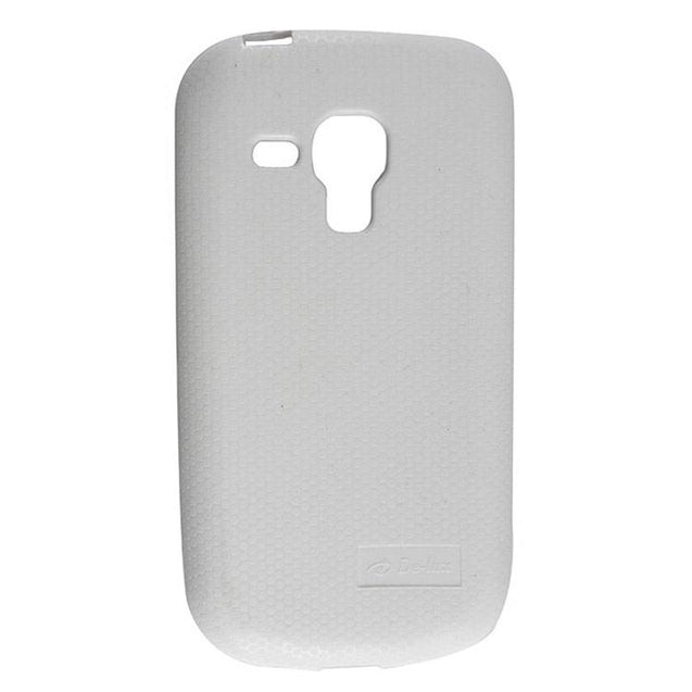 Samsung Galaxy S Duos S7562 Back Cover Soft Back Case White