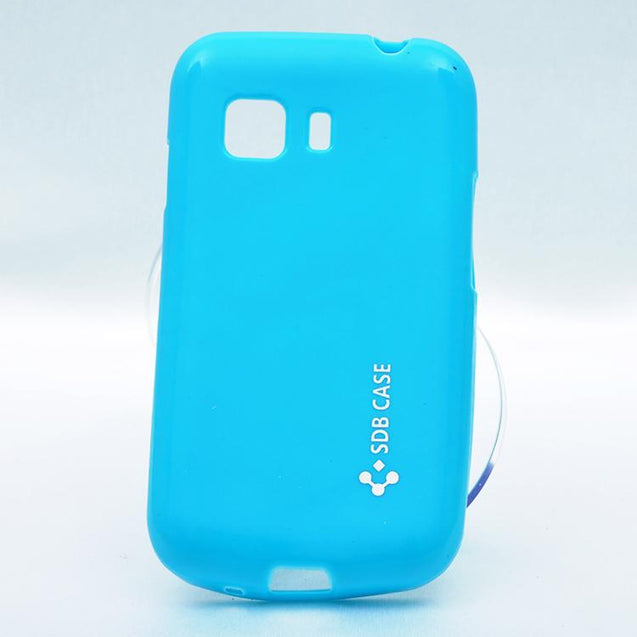 Samsung Galaxy Star 2 G130 SDB Soft Back Cover Case Sky Blue