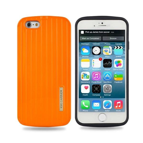Slim Armour Silicone Hard Back Cover Case For Apple iPhone 6 Rugged cover case Yellow
