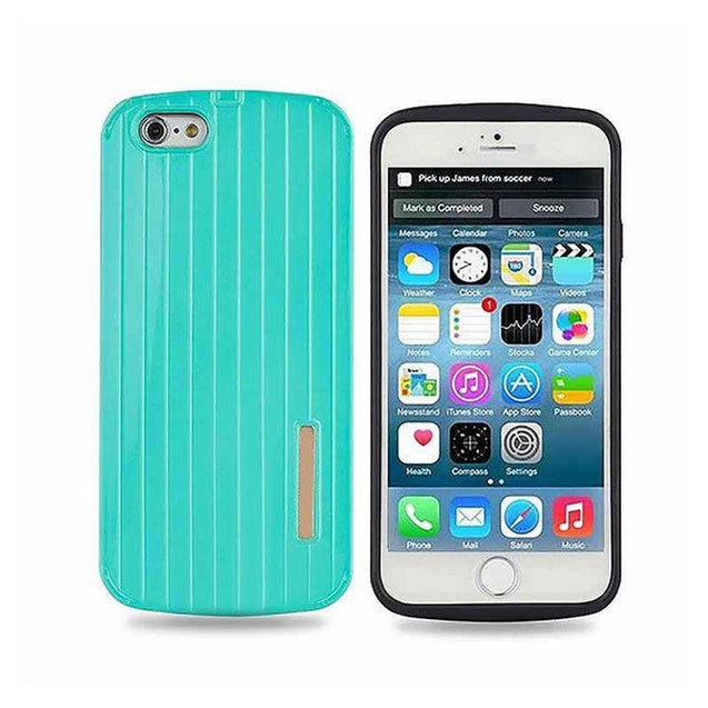Slim Armour Silicone Hard Back Cover Case For Apple iPhone 6 Rugged cover case Green