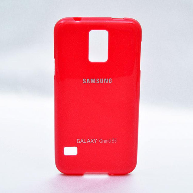 Samsung Galaxy S5 Soft Back Cover Case Hot Pink