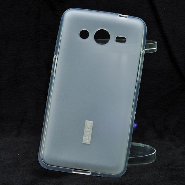 Samsung Galaxy Core 2 Silicon Soft Back Cover Case White