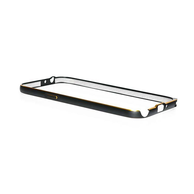 Samsung Galaxy Note 2 N7100 Ultrafit Luxury Metal Bumper Case Black
