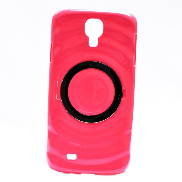 Samsung Galaxy S4 Design Patterned Hard Back Cover Case Red Black