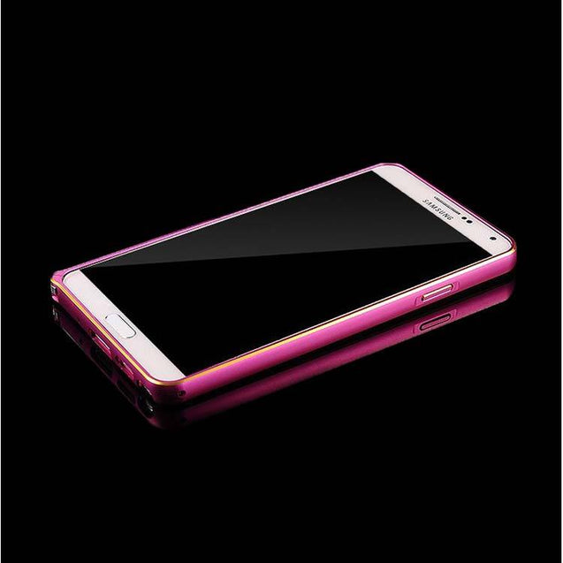 Samsung Galaxy Note 3 Metal Bumper Frame Pink Hippo designed by PTron