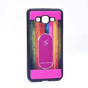 Samsung Galaxy Grand Prime G530 Multi Color TPU Back Cover Case Hot Pink