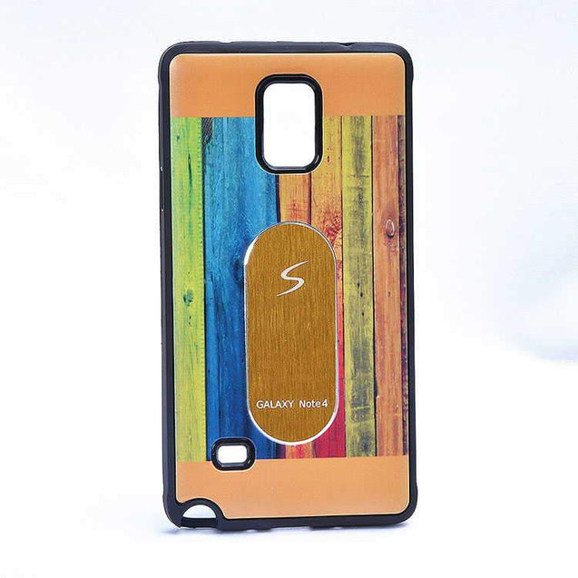 Samsung Galaxy Note 3 N9000 Multi Color TPU Back Cover Case Gold