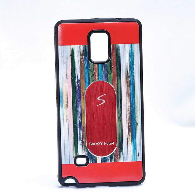 Samsung Galaxy Note 3 N9000 Multi Color TPU Back Cover Case Red