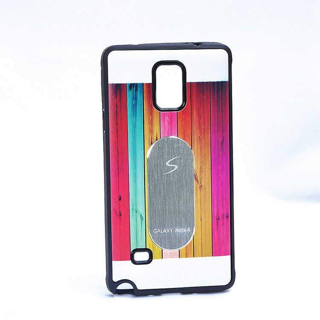 Samsung Galaxy Note 3 N9000 Multi Color TPU Back Cover Case Silver