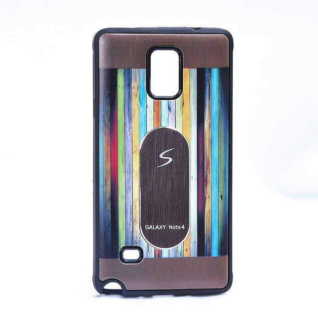 Samsung Galaxy Note 3 N9000 Multi Color TPU Back Cover Case Grey