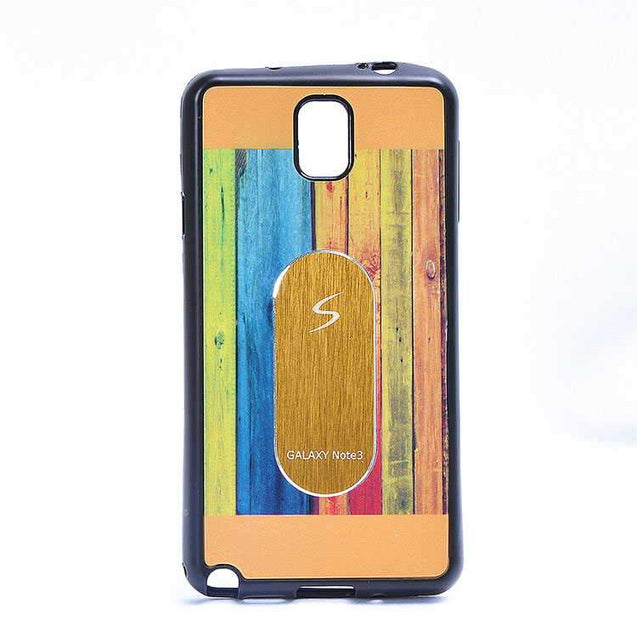 Samsung Galaxy Note 4 Multi Color TPU Back Cover Case Gold
