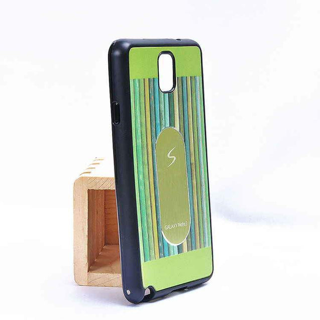 Samsung Galaxy Note 4 Multi Color TPU Back Cover Case Green