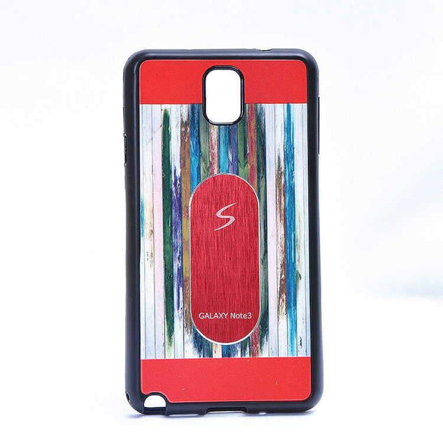 Samsung Galaxy Note 4 Multi Color TPU Back Cover Case Red